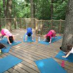 treehouse yoga  for kids