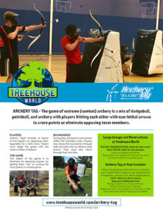 Archery Tag Brochure