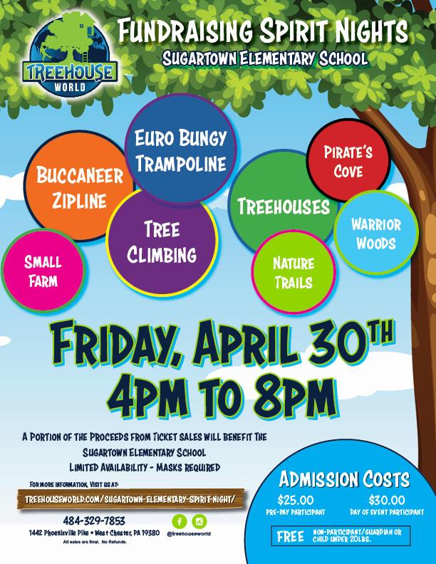 Fundraiser Event Flyer_Sugartown Elementary