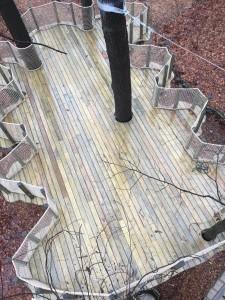 Leaf Treehouse Platform