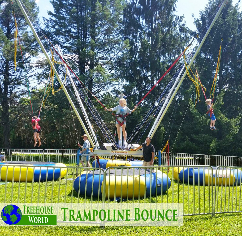 Trampoline Bounce and Trampoline Activities